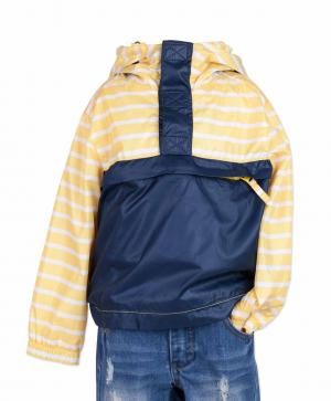 Ветровка , цвет: желтый/синий Button Blue