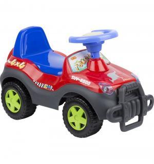Машина-каталка  2106, цвет: красный/синий Tolocar