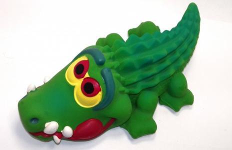 Латексная игрушка Крокодил большой 1505 Lanco