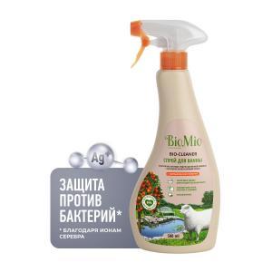 Средство  Bio-Bathroom cleaner чистящее для ванной с грейпфрутом, 500 мл BioMio