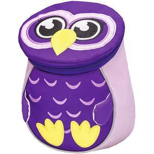 Рюкзак  Mini Animals Совенок Belmil. Цвет: лиловый