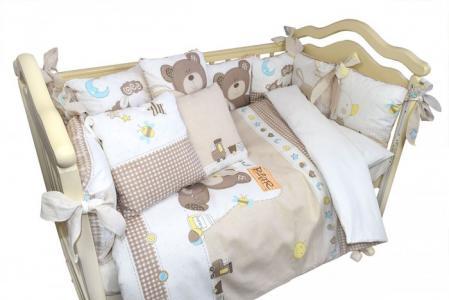 Комплект в кроватку  Малыши (6 предметов) Labeille