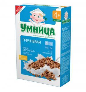 Каша  молочная гречневая с 4 месяцев 200 г 1 шт Умница