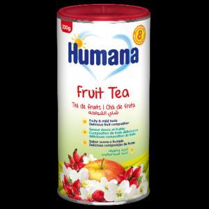 Чай  фруктовый, с 8 месяцев, 200 г Humana