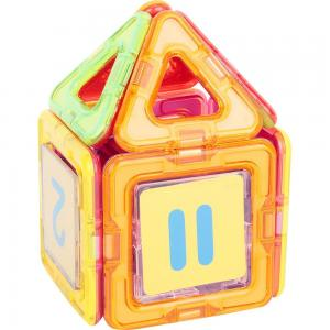 Магнитный конструктор  Магический магнит цвет: желтый/оранжевый (20 дет.) Tongde