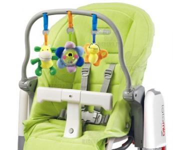Комплект для стульев  Tatamia и Prima Pappa Newborn, цвет: зеленый Peg-Perego