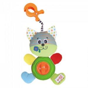 Подвесная игрушка  развивающая на клипсе Котишка-Мурлышка Biba Toys