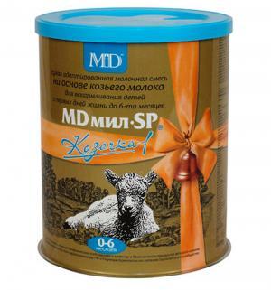 Молочная смесь  Козочка 1 0-6 месяцев, 400 г MD Мил