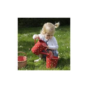Ведро  Горох, красное Egmont Toys. Цвет: красный