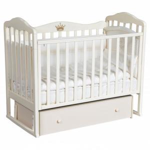 Детская кроватка  Helen 4 (универсальный маятник) Кедр