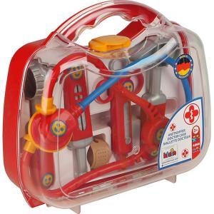 Игровой набор Klein Кейс доктора, маленький. Цвет: красный