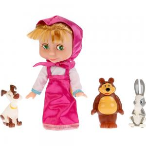 Кукла  Маша с друзьями 25 см Карапуз