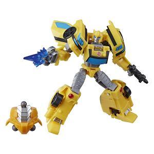 Трансформеры Transformers Кибервселенная Делюкс Бамблби, 12 см Hasbro. Цвет: разноцветный