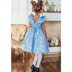Платье Unona. Цвет: голубой