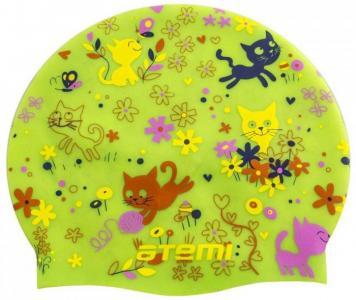 Шапочка детская для плавания Котята Atemi