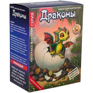 Набор для росписи фигурки из керамики Игрографика Дракон малыш Attipas
