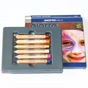 Make Up Набор из 6 классических цветов для грима Giotto