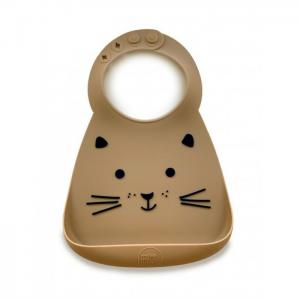 Нагрудник  Baby Bib Cat Make my day