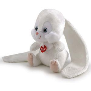 Мягкая игрушка  Зайчик-ушастик, 11x16x9 см Trudi. Цвет: белый
