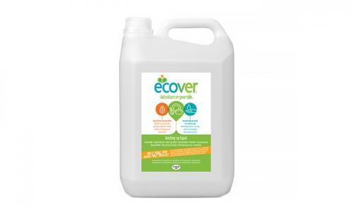 Экологическая жидкость для мытья посуды c лимоном и алоэ-вера 5 л Ecover