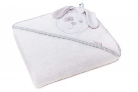 Полотенце Зайка с капюшоном 95х95 см (в упаковке) Perina