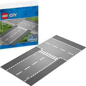 Конструктор  City Supplementary 60236: Прямой и Т-образный перекрёсток LEGO