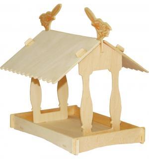 Сборная деревянная модель  Скворечник Wooden Toys