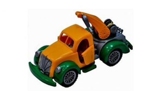 Машина Ретро Аварийная служба Лена