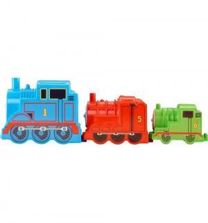Игровой набор Thomas & Friends Паровозики-блоки Thomas&Friends