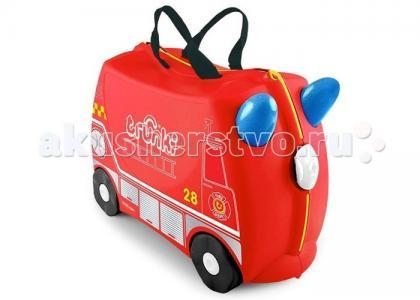 Детская каталка-чемодан Frank Пожарная машина Trunki