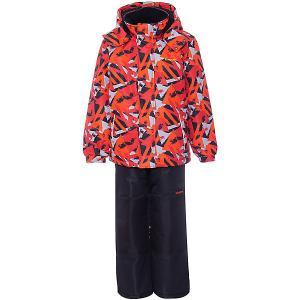 Комплект : куртка, полукомбинезон Zingaro by Gusti. Цвет: оранжевый