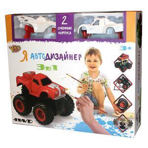 Набор для творчества 3 в 1  Toys Я автодизайнер, M6540-4 Yako
