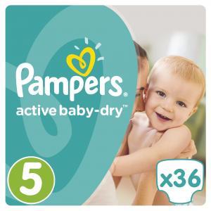 Подгузники  Active Baby Dry (11-18 кг) шт. Pampers