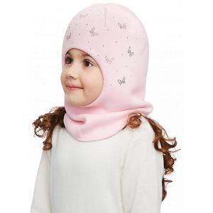 Шапка-шлем  Лана Kotik. Цвет: блекло-розовый