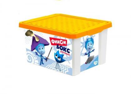 Ящик для хранения игрушек 12 л Фиксики