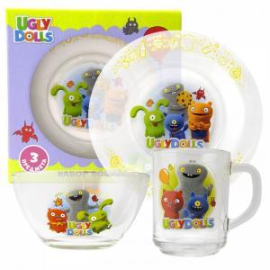 ND Play Набор стеклянной посуды Куклы Дизайн 1 (3 предмета)