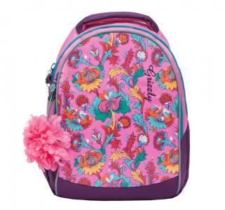 Рюкзак  цвет: розовый 39х28х18 см Grizzly