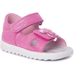 Сандалии Superfit для девочки. Цвет: розовый