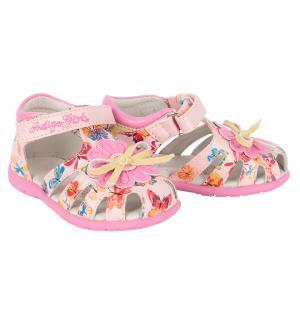 Сандалии , цвет: розовый Indigo Kids