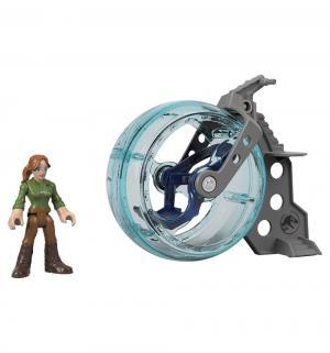 Игровой набор  Jurassic World Claire & Gyrosphere Imaginext