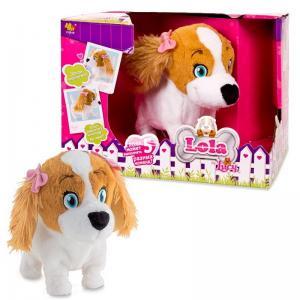 Интерактивная игрушка  Собака Lola, 1шт. IMC