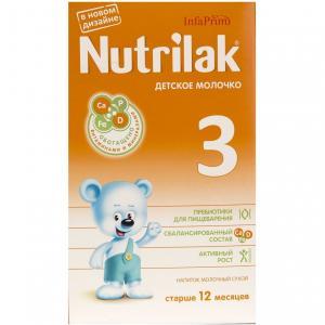 Заменитель молока Нутрилак 3 с 12 месяцев, 350 г Nutrilak