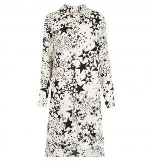 Платье , цвет: белый/черный Карамелли
