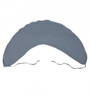 Наволочка Кроха длина по краю 180 см, цвет: серый Smart-textile