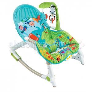 Кресло-качалка с игрушками и вибрацией Newborn-To-Toddler FitchBaby