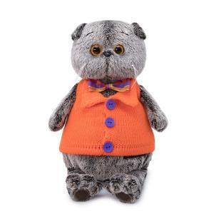 Мягкая игрушка  Басик и Ко в вязаном жилете 22 см Budi Basa