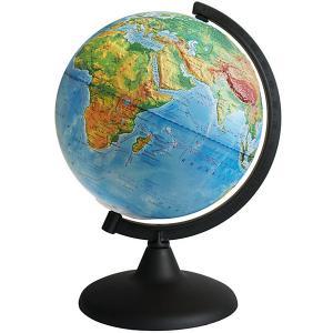 Глобус Земли физический рельефный Глобусный Мир