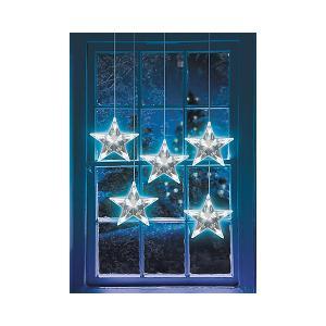 Новогодняя электрогирлянда  Звезды Кецун 12,5 м GLOS