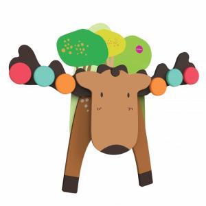 Деревянная игрушка  Vertiplay Игра на баланс Лось Гуфи Oribel