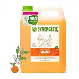 Мыло жидкое Фруктовый микс 5 л Synergetic